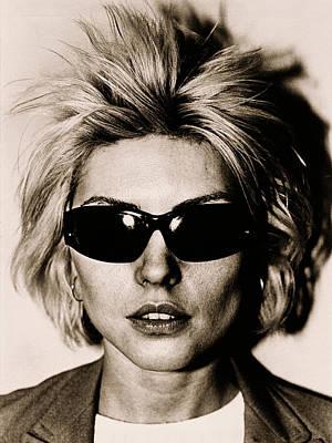 Photograph - Debbie Harry Portrait Session by George Rose