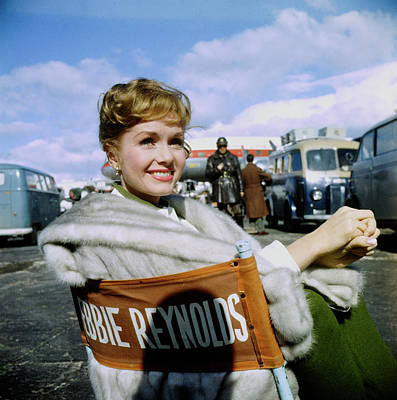 Photograph - Debbie Reynolds by Loomis Dean