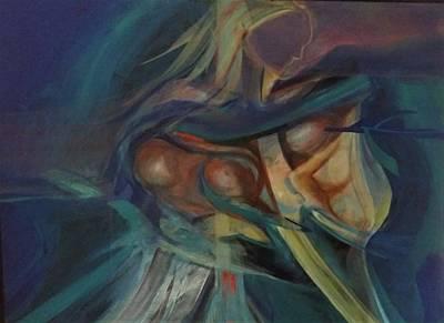 Painting - Debussy Valkyrie Arabesque No 1 by Jose Herazo-osorio