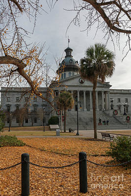 Photograph - December In The Capitol City by Dale Powell