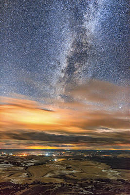 Wall Art - Photograph - December Milky Way Glimpses by Jeremy Tamsen