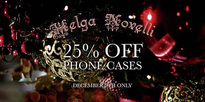 Photograph - December Offer Phone Covers by Helga Novelli