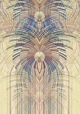 Digital Art - Deco Wood by David Manlove