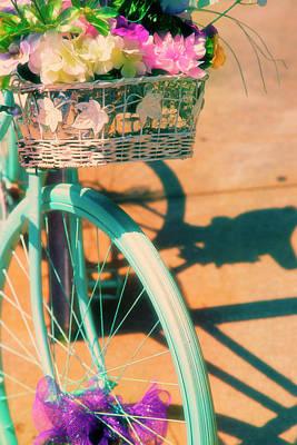 Priska Wettstein Pink Hues - Decorative Bike by Karol Livote