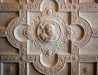 Photograph - Decorative Ceiling by Jean Noren