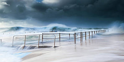 Photograph - Dee Why Ocean Pool by Bruce Hood
