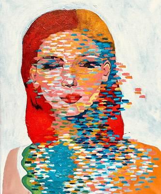 Painting - Deedee Derain by Lee Wilde-Portraits