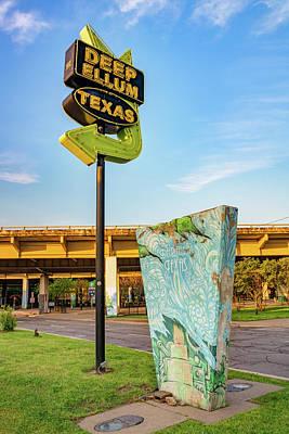 Photograph - Deep Ellum Texas Neon - Dallas Cityscape by Gregory Ballos