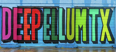 Robert Bellomy Royalty-Free and Rights-Managed Images - Deep Ellum Wall Art by Robert Bellomy