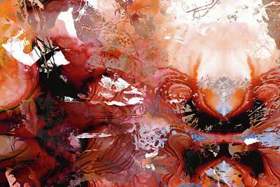 Painting - Deep Red Abstract Art - New Awakening - Sharon Cummings by Sharon Cummings
