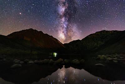 Photograph - Deep Sky Fishing by Tassanee Angiolillo