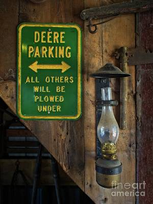 Photograph - Deere Parking by Mark Miller