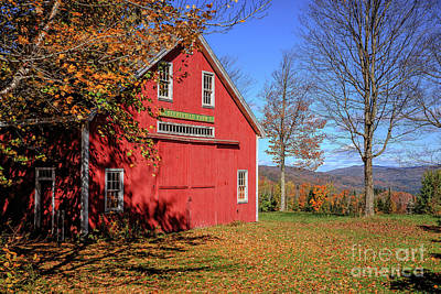 Photograph - Deerefield Farm Grafton New Hampshire by Edward Fielding