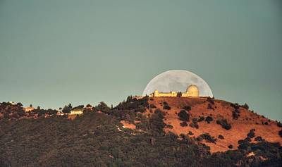 Photograph - Deflector Shield Over Lick Observatory by Quality HDR Photography