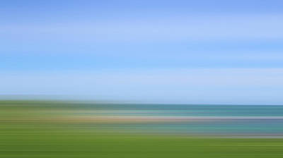 Abstract Photograph - Defocused View Of Ocean by Studio Parris Wakefield