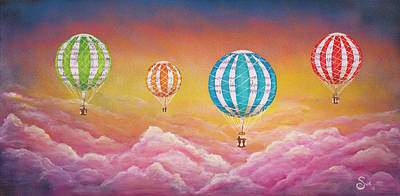 Painting - Defying Gravity by Sue Art studio