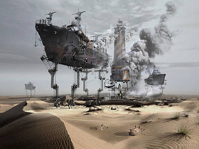 Digital Art - Dehydration  by George Grie
