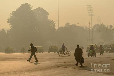 Photograph - Delhi Streets 01 by Werner Padarin