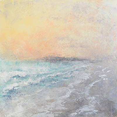 Mixed Media - Delicate Beach by Anne Stine