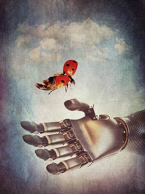 Surrealism Digital Art - Delicate by Mihaela Pater