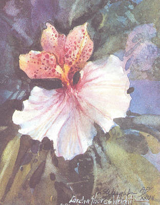 Wall Art - Painting - Delight I  by Carolyn Shores Wright