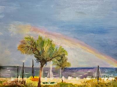 Painting - Delray Beach After A Storm by Donna Walsh