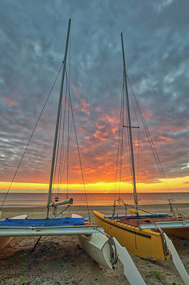 Photograph - Delray Beach Catamaran by Juergen Roth