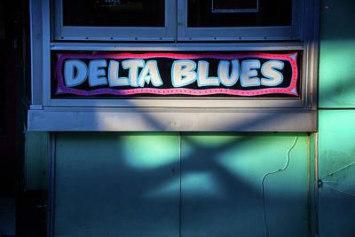Delta Blues Art Print