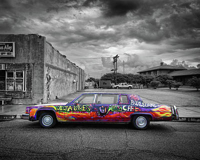 Photograph - Delta Blues Limo by Jim Mathis