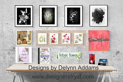 Digital Art - Delynn Addams Artwork Collection  by Delynn Addams