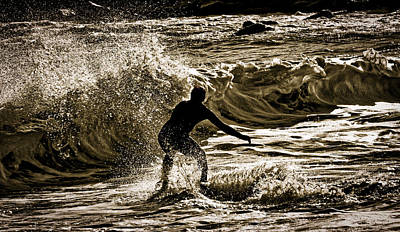 Photograph - Demons In The Surf by David Kay