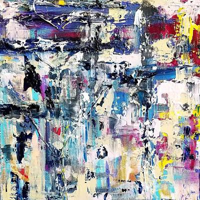 Painting - Denim Flair by Natosha Keefer