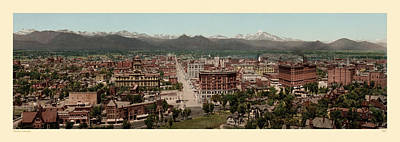Photograph - Denver 1898 by Andrew Fare