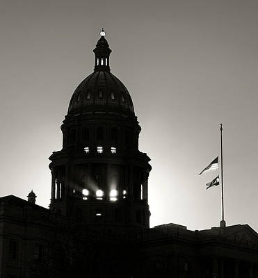 Photograph - Denver Capitol Rays by Marilyn Hunt