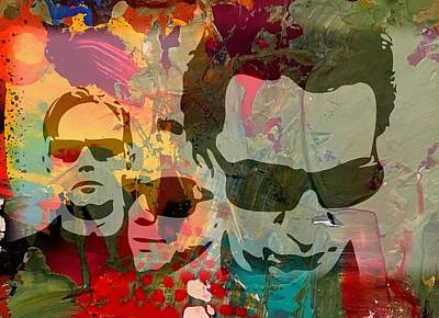 Mixed Media - Depeche Mode by Jayime Jean