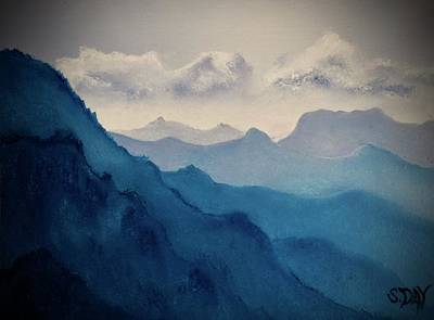 Painting - Depth by Sandra Day