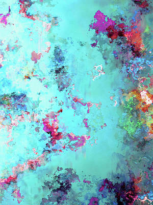 Digital Art - Depths Of Emotion - Abstract Art - Diptych 2 Of 2 by Jaison Cianelli