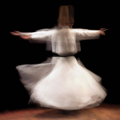 Traditional Clothing Photograph - Dervish by Pilar Azaña Talán