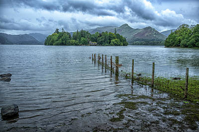 Photograph - Derwentwater by Christopher Rees