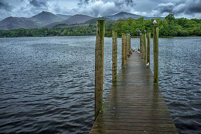 Photograph - Derwentwater Pier by Christopher Rees