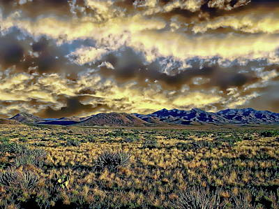 Photograph - Desert Dawn by Anthony Dezenzio