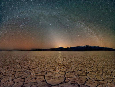 Photograph - Desert Night by Leland D Howard