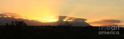 Photograph - Desert Sunrise by Marcia Lee Jones