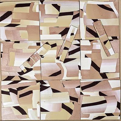 Wall Art - Mixed Media - Desert Winds by Fran Abrams