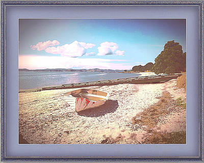Photograph - Deserted Dinghy by Clive Littin
