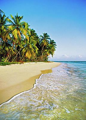 Trinidad And Tobago Wall Art - Photograph - Deserted Tropical Beach by Doug Armand