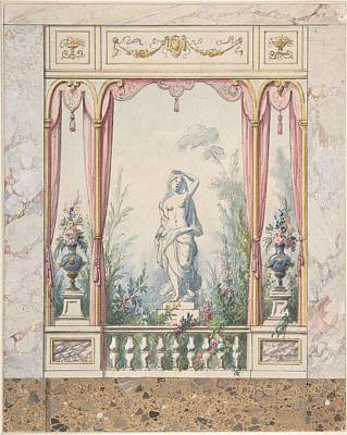 State Love Nancy Ingersoll - Design for an Interior with a Window into a Garden  Anonymous, Italian, early 19th century by MotionAge Designs