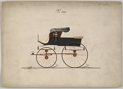 Sean Rights Managed Images - Design for Stanhope Phaeton, no. 1061 B. Weyers American, active 1850-75 Royalty-Free Image by B Weyers