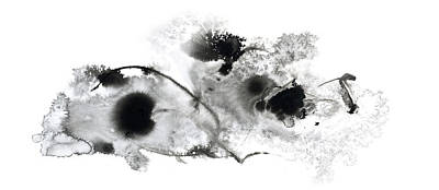 Painting - Desire - Large Black And White Abstract Painting by Modern Art Prints