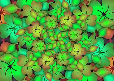 Digital Art - Desmodium Remix by Vitaly Mishurovsky